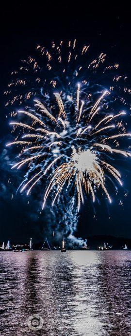 Feuerwerksaufnahmen